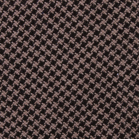 Madrid Brown Houndstooth Kids Diamond Bow Tie