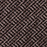 Madrid Brown Houndstooth Fabric Mens Bow Tie