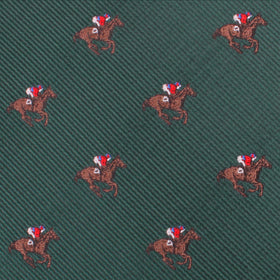 Makybe Diva Dark Green Racehorse Pocket Square
