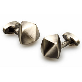 Mandela Antique Silver Cufflinks