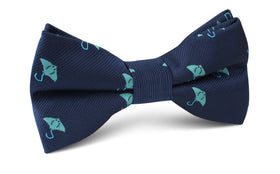 Manta Stingray Bow Tie