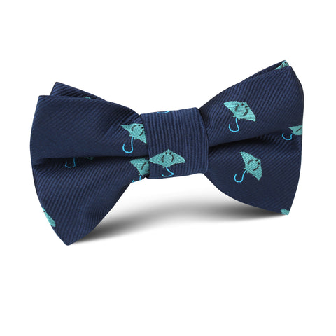Manta Stingray Kids Bow Tie