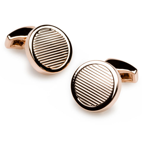 Mao Zedong Rose Gold Cufflinks