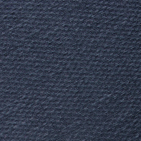 Marine Navy Blue Linen Pocket Square