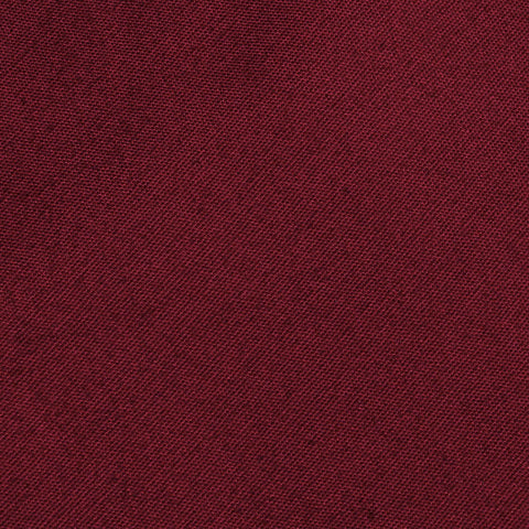 Maroon Cotton Pocket Square