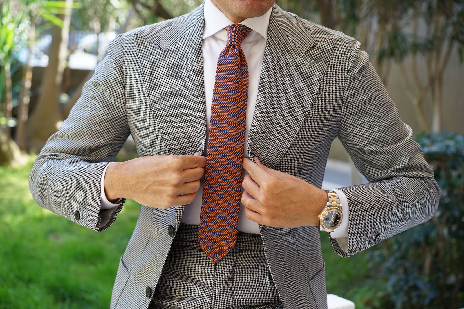 Marrakesh Knitted Tie