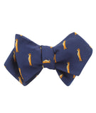 Meerkat Diamond Self Bowtie