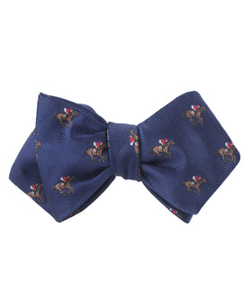 Melbourne Race Horse Diamond Self Bow Tie