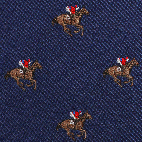 Melbourne Race Horse Kids Diamond Bow Tie