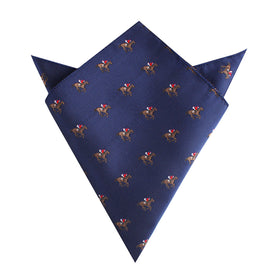 Melbourne Race Horse Pocket Square