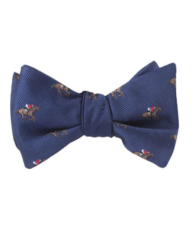 Melbourne Race Horse Self Bow Tie