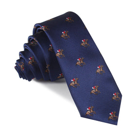 Melbourne Race Horse Skinny Tie