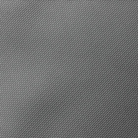 Mercury Grey Weave Pocket Square