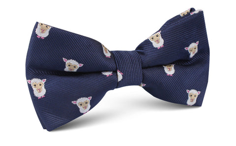 Merino Sheep Bow Tie