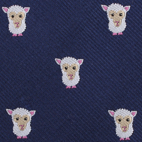 Merino Sheep Kids Diamond Bow Tie