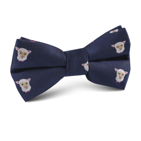 Merino Sheep Kids Bow Tie