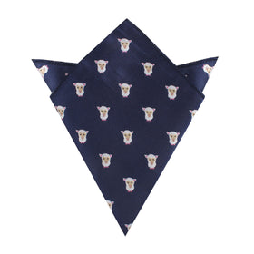 Merino Sheep Pocket Square