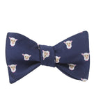 Merino Sheep Self Tied Bowtie