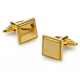 Michelangelo Gold Cufflinks