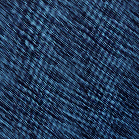 Midnight Blue-Black Chambray Pocket Square