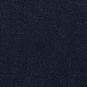 Midnight Blue-Black Linen Pocket Square