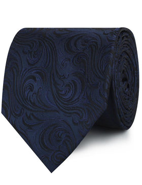 Midnight Blue Khamsin Necktie