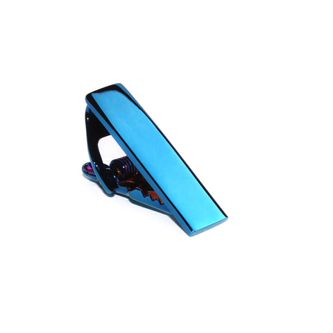 Mini Blue Skinny Tie Bar