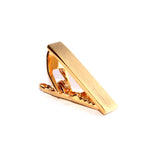 Mini Brushed Gold Skinny Tie Bar