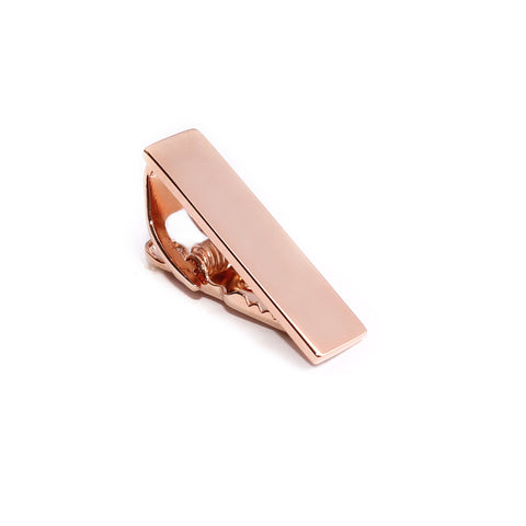 Mini Shining Rose Gold Skinny Tie Bar