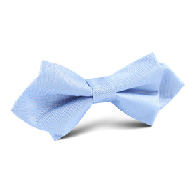 Mint Blue Diamond Bow Tie