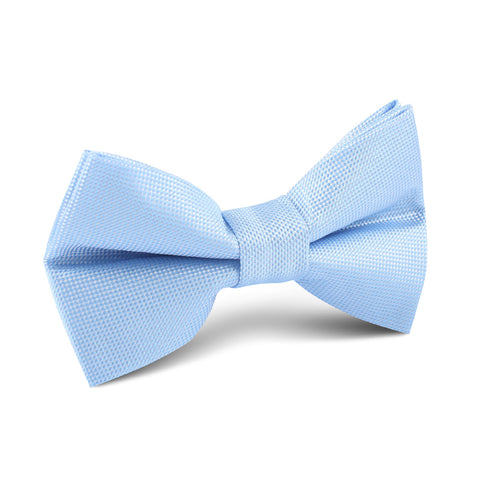Mint Blue Kids Bow Tie