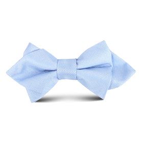 Mint Blue Kids Diamond Bow Tie