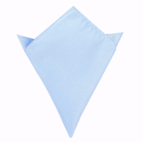 Mint Blue Pocket Square