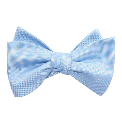Mint Blue Self Tie Bow Tie