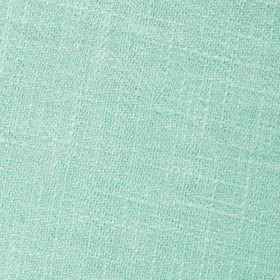 Mint Blush Green Chevron Linen Pocket Square