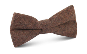 Monaco Brown Bow Tie