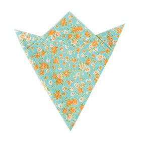 Monaco Floral Pocket Square