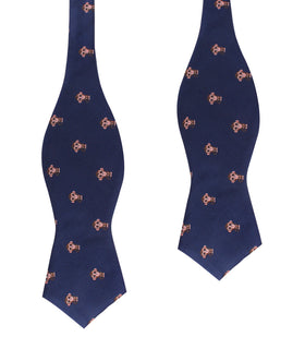 Monkey Diamond Self Bow Tie