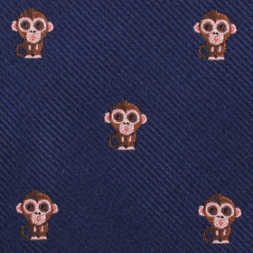 Monkey Diamond Bow Tie