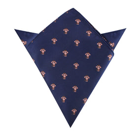 Monkey Pocket Square