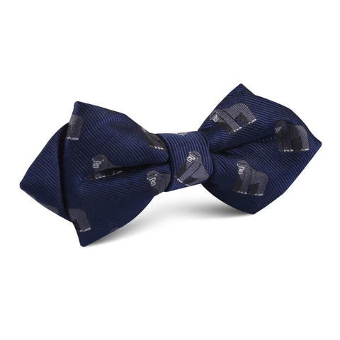 Mountain Gorilla Diamond Bow Tie