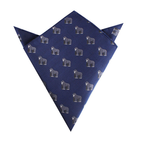 Mountain Gorilla Pocket Square