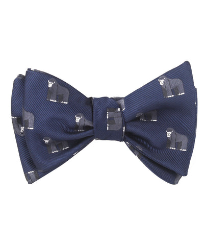 Mountain Gorilla Self Bow Tie