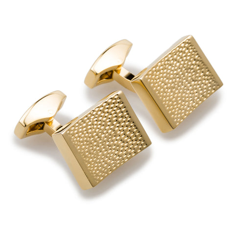 Mr Elba Gold Cufflinks