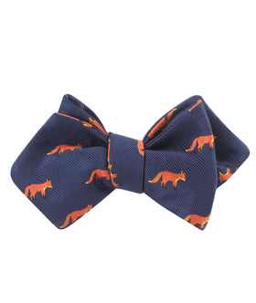 Mr Fox Diamond Self Bow Tie