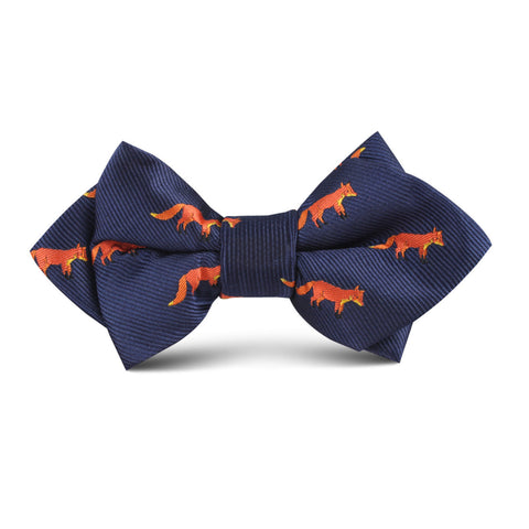 Mr Fox Kids Diamond Bow Tie