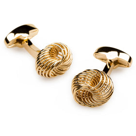 Mr Mugabe Gold Cufflinks