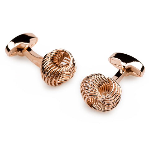 Mr Mugabe Rose Gold Cufflinks