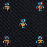 Mr Robot Self Bow Tie Fabric