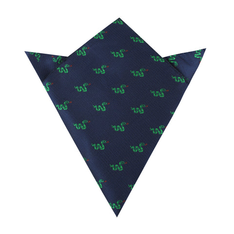 Mr Squiggle the Snake Pocket Square